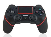 Wholesale Wireless Bluetooth Controller for PS4 Vibration Joystick Gamepad Game Controller for Sony Play Station With Retail box X DHL