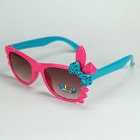 Wholesale brand sunglasses for kids for sale - Group buy New Hot Sale High Quality Kids UV Sunglasses Cat Eye Sunglasses Brand Designer Retro Cute For Children KL1008