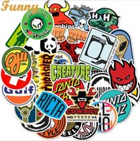 Wholesale lowest laptop prices resale online - Low Price Hot Fashion Cool Bicycle Car Doodles Cool Stickers For Luggage Trolley Case Laptop Skateboard Guitar Waterproof Doodle Stickers
