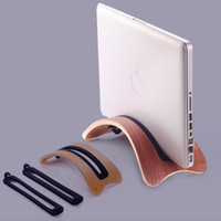 Wholesale wooden stand for tablets online – Wooden Laptop Stand Tablet Cooling Support Bracket Holder High Quality For Laptop MacBook Air Pro Home Office Use car