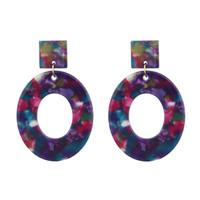 ingrosso nuove tendenze dell'orecchino-Hot New Orecchini Donna Orecchini pendenti in acrilico Orecchini moda vintage tendenza orecchino per le donne