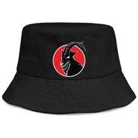 siyah ağır metal toptan satış-Ağır Metal Band Slipknot siyah erkekler ve kadınlar balıkçı kova güneş şapka serin boş kişiselleştirilmiş benzersiz klasik kepçe suncap
