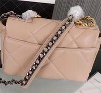handtasche geformte perlen groihandel-Lammleder Handtasche Schultertasche diagonale echte Leder Frauen Taschen