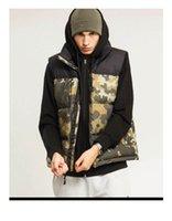 eski hip hop hoodie toptan satış-Tasarımcı Erkek Yelek Ceket Parkas Marka Bayan Aşağı Coat Hoodie Erkek Hip Hop Hoodie Kış Açık Kış Marka Isınma Lüks Hoodie Ceket