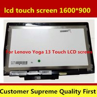 """placa lógica macbook pro venda por atacado-original para Lenovo Ideapad Yoga13 LCD Touch Yoga tela de 13 montagem 13.3"""" LP133WD2 SL B1 100% transporte livre testado"""