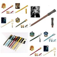 Wholesale fashion academy resale online - Fashion Harry Potter series magic pen magic performance props Gryffindor Academy magic pen collection gift box preferred styles T3I5386