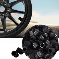 motorrad plastik sets großhandel-2017 100 Teile / satz Universal Kunststoff Auto Auto Fahrrad Motorrad Lkw rad Reifen Ventilkappen Kostenloser Versand