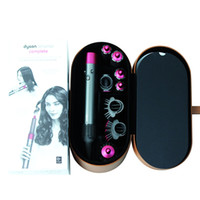 Wholesale new curling irons resale online - NEW DY SON wrap multi function hair styling device DY SON hair dryer automatic curling iron head gift box High quality