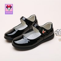 Wholesale shoes female princess for sale - Group buy children s Leather shoes Princess fashion girls spring new black shoes for kid female students show size