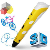 Wholesale drawing printer resale online - Classical D printing pen D Drawing Pen With PLA filament free sample Adjustable Arts Printer d pen kit for kids Best Birthday Presents