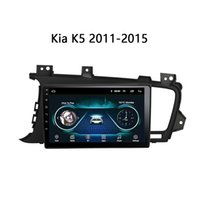 Wholesale k5 android tv player resale online - Car DVD head unit For KIA K5 Android quot GPS navigation video stereo DVD screen FM SWC TV multimedia