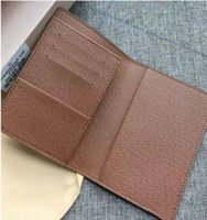 Wholesale pvc panels online - 2019 wallets purse Men Wallet New Brand Leather Wallet Fashion Men Purse Arteira Masculina Short Coin Pocket Men Purse passport bag
