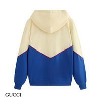 eski hip hop hoodie toptan satış-Yeni sonbahar ve kış Vintage Hoodie mektup baskılı Kazak gündelik sokak stili tahminim hop kalça erkek ve kadın Hoodie fermuar kazak