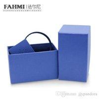 ingrosso protezione del braccialetto-Protection Box Bracciale Retro Fahmi regalo semplice Confezione Box originale dei monili delle donne Vendite dirette della fabbrica