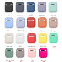 silikon-gummi-beutel groihandel-Stoßfest Flüssiger Silikon-Weichgummi-Schutzhülle für Apple AirPods Wireless Headset Schutzhülle mit Staubschutz