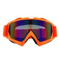 ingrosso occhiali da snowmobile-New Ciclismo Snowboard Occhiali Prevenire Vento Snowmobile Dirt Moto Occhiali Bike Motocross Off-Road Eyewear Lenti Colorate # 205233
