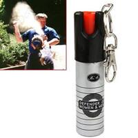 produtos ao ar livre venda por atacado-20 ML Spray De Pimenta Senhora Ferramenta De Autodefesa Acampamento Ao Ar Livre Portátil Spray De Pimenta Mini Spray De Pimenta Ms. Produtos De Segurança