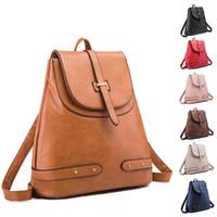 Wholesale mochila bags resale online - 7styles women Backpack Outdoor Travel Handbags Retro Mochila School Bags storage Duffe Bags Crossbody Shoulder bags FFA2039