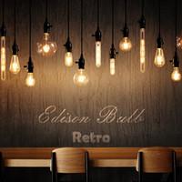 12w светодиодная лампа оптовых-Светодиодные свечи лампы E14 Урожай C35 Волокно Свет E27 Edison Globe Lamp 220V G95 Clear / Amber 2W 4W 6W 8W