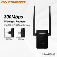 desbloquear dispositivo sim venda por atacado-Comfast CF-WR302S Roteador Sem Fio WI-FI 300 M 10dBi Antena Wi-Fi 802.11N / B / G Roteador Wi-fi Extensor Rang