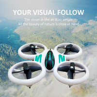 Wholesale quadcopter led resale online - Newest Q8 LED Electric RC Aircraft Induction Four Axis Drone Gesture and Controller Operation Mini Flying Quadcopter