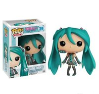 Wholesale vocaloid miku toys for sale - Group buy Funko POP Vocaloid Hatsune Miku Vinyl Action Figure With Box Gift Doll Toy Christmas