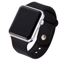 relojes de pulsera unisex al por mayor-Pantalla LED Relojes deportivos digitales Mujeres Pulsera deportiva de silicona Casual Moda Reloj para mujer Hombres Regalo de cumpleaños unisex Pareja
