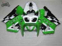 motosiklet fuar kiti zx7r toptan satış-Kawasaki Ninja ZX7R 1996-2003 ZX7R 96 97 98 99 00 01 02 03 motosiklet gövde bakım grenaj seti için özelleştirme Çin Fairing kiti