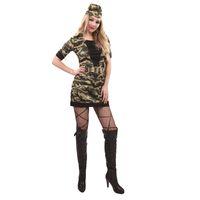 traje de mujer militar al por mayor-Nuevos trajes atractivos Bastante paracaidista del traje de Halloween de las mujeres adultas Militares del Ejército