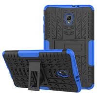 invólucro para s3 venda por atacado-Capa de TPU híbrida Kickstand TPU + PC Rugged Armor Tablet para Samsung Galaxy Tab S3 9.7 / T820 A 10.1 / P580 T580 com Kickstand