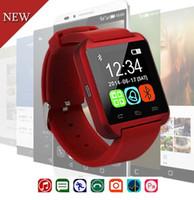 Wholesale u8 smart watch for windows phone online – martwatch Bluetooth Sport Smart Watch For Android Phone U8 Clock Wearable Device Watch Men Women GT08 DZ09 reloj inteligente