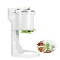 máquinas de gelo macio venda por atacado-Beijamei Promoção 1L Cones de Sorvete Elétrico Macio Que Faz A Máquina Caseiro DIY Ice Cream Maker 220 V