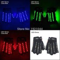 oyuncak piller açtı toptan satış-Yeni Tasarım 1 pair (= 2 adet) LED Eldiven Dans Parti Malzemeleri 1-23A Powered By Pil Pil Parti Malzemeleri için Parlak LED Işık Eldiven oyuncaklar