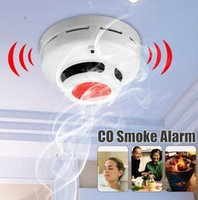 Wholesale smoke carbon detectors for sale - Stable Standalone Combination Carbon Monoxide And Smoke Alarm High Sensitive CO Smoke Detector for Home Security