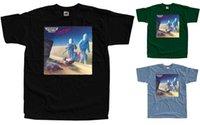 ingrosso autostrada blu-maglietta da uomo di design magliette HIGHWAY CHILE Maglietta Storybook Heroes (nero, verde bottiglia, blu acciaio) S-5XL