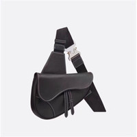 new Global Free Shipping Classic Deluxe Matching Leather Leather Waist Bag Best Quality Tote Saddle Size 28cm 20cm 5cm