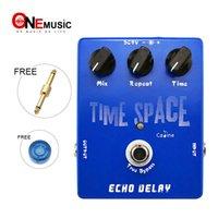 effets de la caline achat en gros de-Vente en gros Caline CP17 Time Space Echo Delay Pédale d'effet numérique 600ms Maxi True Bypass Livraison gratuite Connecteur gratuit