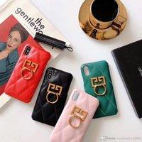 ingrosso set di telefoni di moda-Il telefono cellulare all'ingrosso di Iphone della marca di modo di marca nuovissima all'ingrosso fissa XR XS MAX X 7 8 P materiale del cuoio + TPU