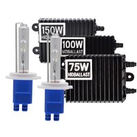 Wholesale headlight ballast kits for sale - Group buy High Power V W W W Ballast HID Xenon Kit H7 H11 H3 HB3 HB4 D2H H1 Xenon Bulb K K K K Car Headlight Kit