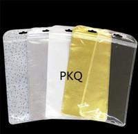 Wholesale makeup brush pack bag for sale - Group buy Translucent Packing Bag Cosmetic Makeup Brush Bag Plastic Gold Silver Ziplock Packaging For Jewelry Socks
