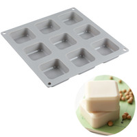 9 Cavities Multifunction Silicone Cake Mold for Bread Loaf Pan Baking Decoration Tools for Cakes Silicone Moulds Soap Baking Tools