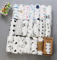 Wholesale 2019 latest cm styles cotton baby towel newborn wipes explosion stroller seat blanket