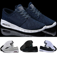maille noire janoski max achat en gros de-Nike air max SB off white boost New Balance Puma Vans Converse basketball red bottoms designer shoes men Baskets Haute Qualité D'origine Dscount Marche Noir Chaussures De Sport