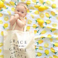 ingrosso abbracci del bambino-14 colori baby coperta In cotone di bambù di mussola neonati asciugamani da bagno spugna abbracci coperte avvolgere fasciatura coperta asciugamano sfondo fotografia