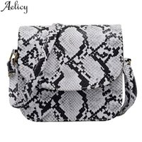 Wholesale waist bag patterns for sale - Group buy Aelicy Women Fashion Outdoor Hasp Versatile Serpentine Pattern Type Messenger Bag Chest Waist Phone Bag Great Present Hot