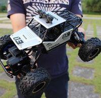 4wd sürüklenme araçları toptan satış-Yüksek Hızlı 4WD Radyo RC Araba 2.4G Off-Road Araba 4x4 Sürüş Controle Remoto Rc Sürüklenme Araba Araç Hobi Oyuncak