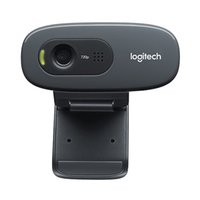 hd webcam mic al por mayor-C270 HD Vid 720P Black Webcam con videollamadas MIC Micphone para Android TV Oiginal Webcams
