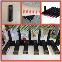 Wholesale low lipsticks resale online - Hot C Brand LE ROUGE BRILLANT COMPLETE CARE LIPSHINE MATTE Lipsticks make up with lowest price and high quality