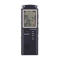 экранные устройства оптовых-T60 Профессионального диктофон 8GB / 16GB / 32GB USB Большого дисплея время экрана HD шум устройство Уменьшение сверхдолгих записи