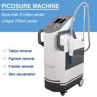kore güzellik makinası toptan satış-Pico lazer dikey q anahtarı nd yag lazer temizleme dövme kaldır picosecond makinesi kore pico q-anahtarı picosure güzellik ekipmanları
